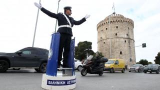 Εικόνες από το παρελθόν στη Θεσσαλονίκη: Ρυθμιστής τροχονόμος σε βαρέλι