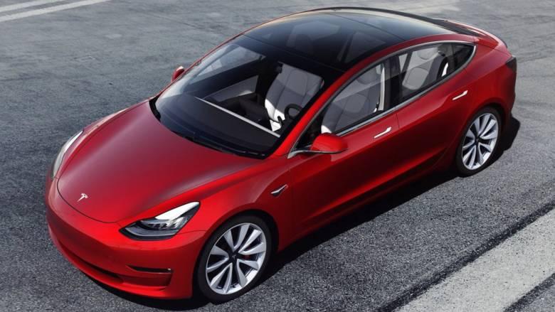Δείτε μέσα σε 48 δεύτερα πως κατασκευάζεται ένα ηλεκτρικό Tesla Model 3
