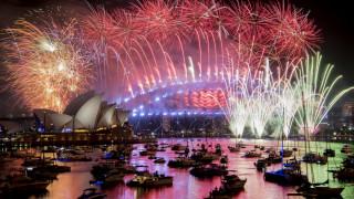 Η Αυστραλία υποδέχθηκε το 2019 με ένα εντυπωσιακό σόου πυροτεχνημάτων