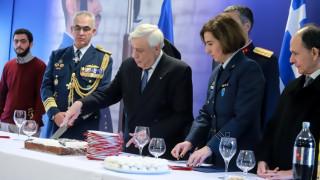 Στον Πρόεδρο της Δημοκρατίας το φλουρί της πίτας της Προεδρικής Φρουράς