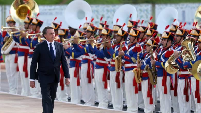 Βραζιλία: Ορκίστηκε πρόεδρος ο Ζαΐχ Μπολσονάρου