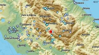 Σεισμός στην Λ' Άκουιλα της Ιταλίας