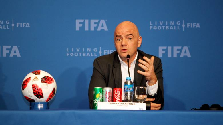Ινφαντίνο: Πιθανό να συμμετάσχουν 48 ομάδες στο Μουντιάλ του 2022