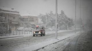 Στο έλεος της «Σοφίας» όλη η χώρα: Χιονοπτώσεις, παγετός και δριμύ ψύχος