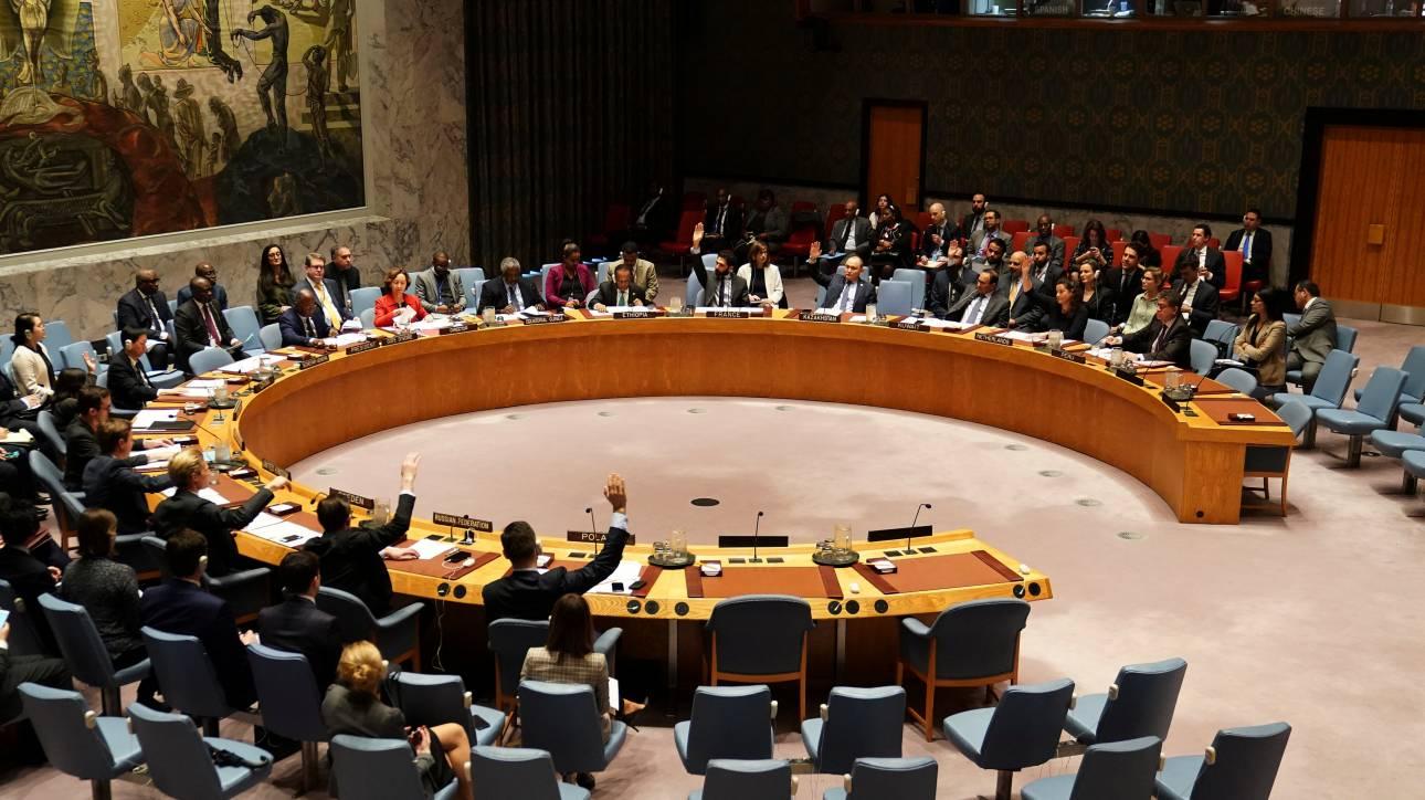 Συνεδρίαση του ΣΑ του ΟΗΕ για την ειρηνευτική δύναμη στην Κύπρο