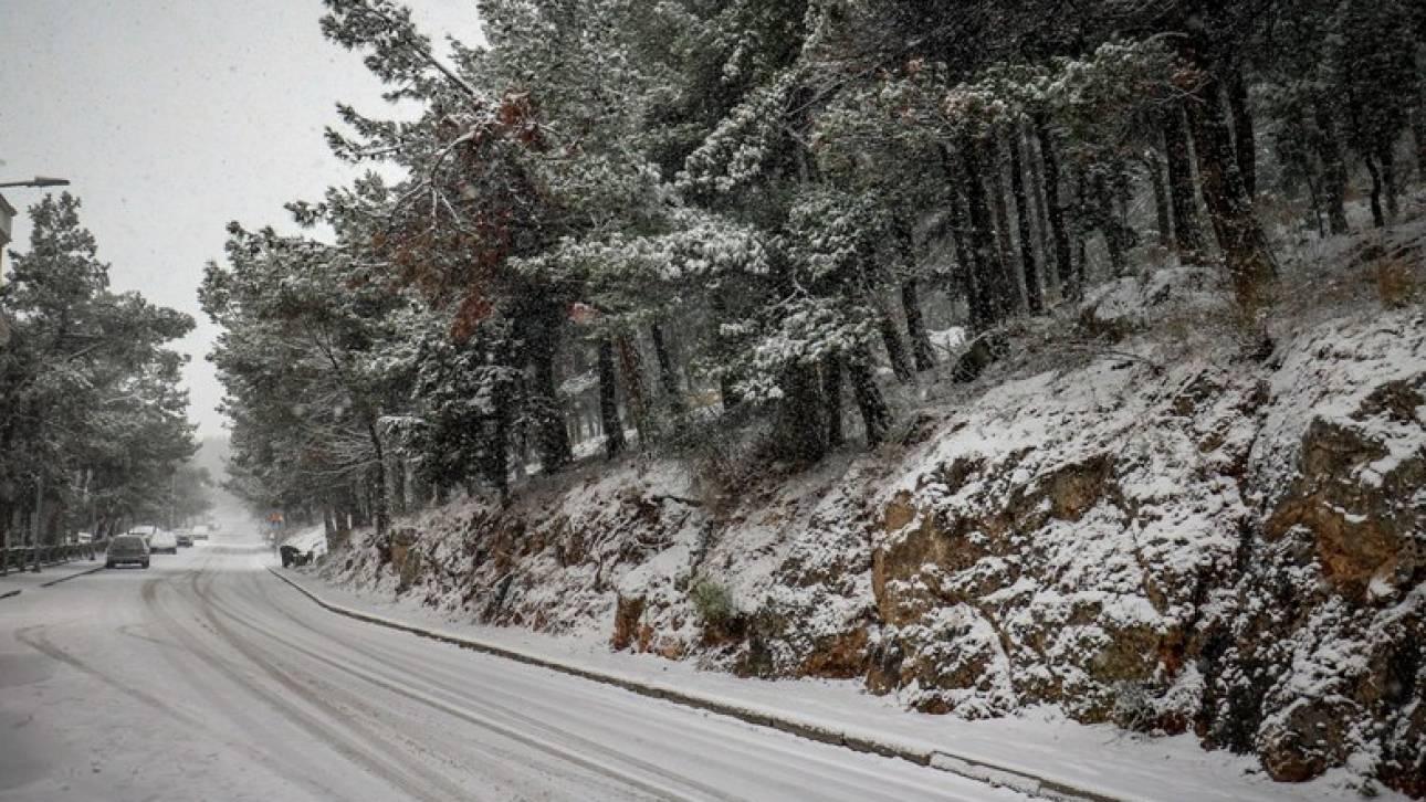 Κακοκαιρία: Σε κατάσταση έκτακτης ανάγκης η Χαλκιδική λόγω του χιονιά