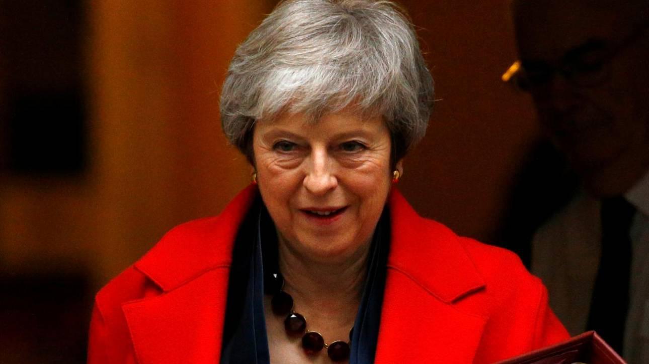 Βρετανία: Νέα αναβολή της ψηφοφορίας για το Brexit εξετάζει η Μέι