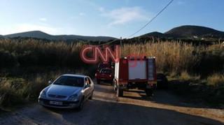 Τραγωδία στην Κερατέα: Αυτό είναι το σημείο όπου παρασύρθηκε το αυτοκίνητο