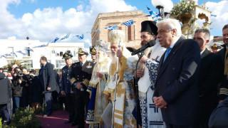 Μήνυμα Παυλόπουλου στην Τουρκία από τη Σύρο κατά τον εορτασμό των Θεοφανείων