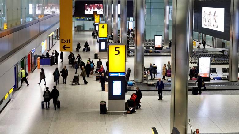 Λονδίνο: Ασυνόδευτη βαλίτσα λαχτάρισε το Χίθροου