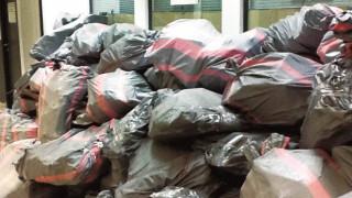 Ηράκλειο: Αυτά τα σακιά στο κτήριο της Εφορίας «κρύβουν» πάνω από 1 δισ. ευρώ!