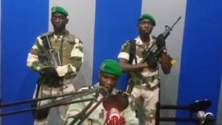 Απόπειρα στρατιωτικού πραξικοπήματος στην Γκαμπόν (vid)