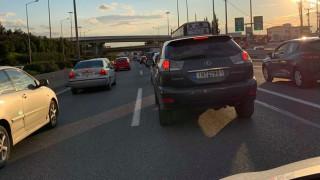 Καραμπόλα στον Κηφισό - Ταλαιπωρία για τους οδηγούς