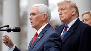 Πενς: Καμία απόφαση Τραμπ για κήρυξη κατάστασης εκτάκτου ανάγκης για την χρηματοδότηση του τείχους