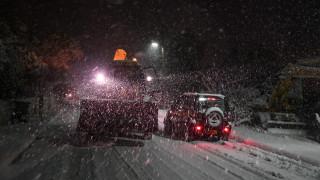 Χιονόπτωση στην Αθήνα: Σε ποια σημεία είναι κλειστή η Αθηνών - Λαμίας
