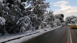 Στα «λευκά» όλη η Ελλάδα: Στους -21 έφτασε το θερμόμετρο