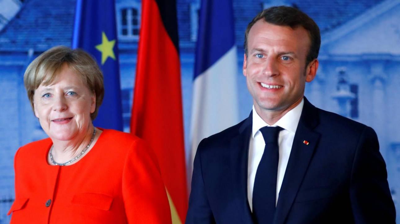 Μακρόν και Μέρκελ θα υπογράψουν μια νέα Συνθήκη γαλλογερμανικής συνεργασίας