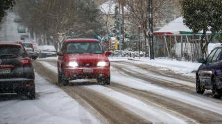 Καιρός: Σε ποιες περιοχές εντοπίζονται προβλήματα στο οδικό δίκτυο