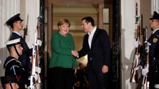 Τσίπρας σε Μέρκελ: «Έρχεστε σε μια διαφορετική Ελλάδα»