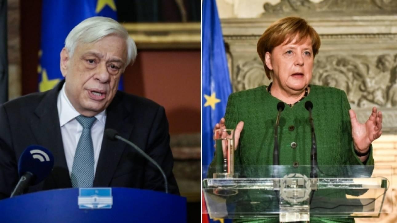 Το ζήτημα των γερμανικών αποζημιώσεων θα θέσει ο Παυλόπουλος στη Μέρκελ