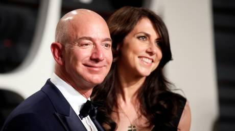 Πώς θα επηρεάσει την Amazon το πολύκροτο διαζύγιο του ζεύγους Μπέζος