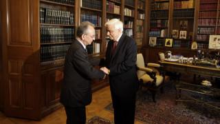 Τα συλλυπητήρια του Παυλόπουλου για την απώλεια του στενού του φίλου, Δημήτρη Σιούφα