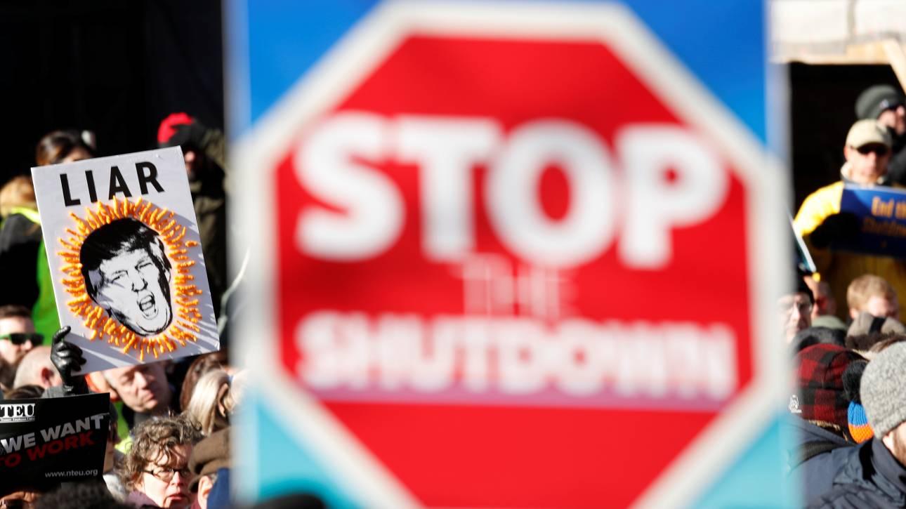 Ρεκόρ κρατικής «παράλυσης»: Οι ΗΠΑ ζουν το μεγαλύτερο σε διάρκεια «shutdown» στην ιστορία τους