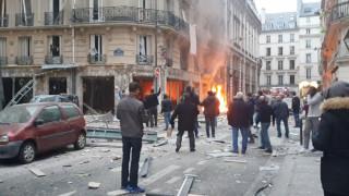 Χάος και δεκάδες τραυματίες από την έκρηξη στο Παρίσι