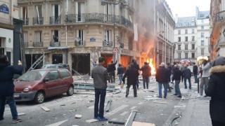 Ισχυρή έκρηξη με νεκρούς και τραυματίες στο κέντρο του Παρισιού