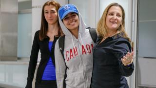 Τέλος στην Οδύσσεια της 18χρονης που το έσκασε από τη Σαουδική Αραβία - Έφθασε Τορόντο