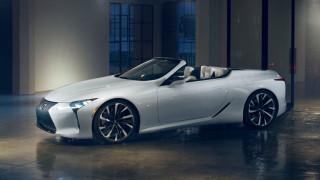 To ανοιχτό LC θα είναι το πιο όμορφο μοντέλο της Lexus