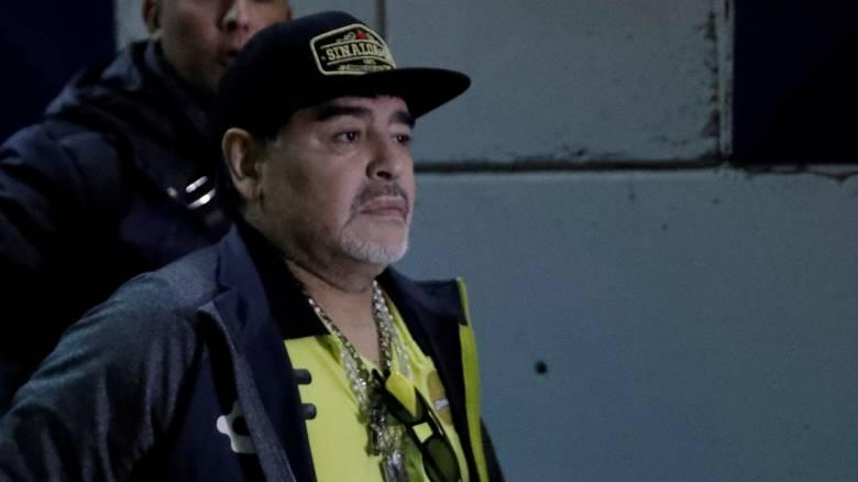 Σε χειρουργική επέμβαση υπεβλήθη ο Ντιέγκο Μαραντόνα