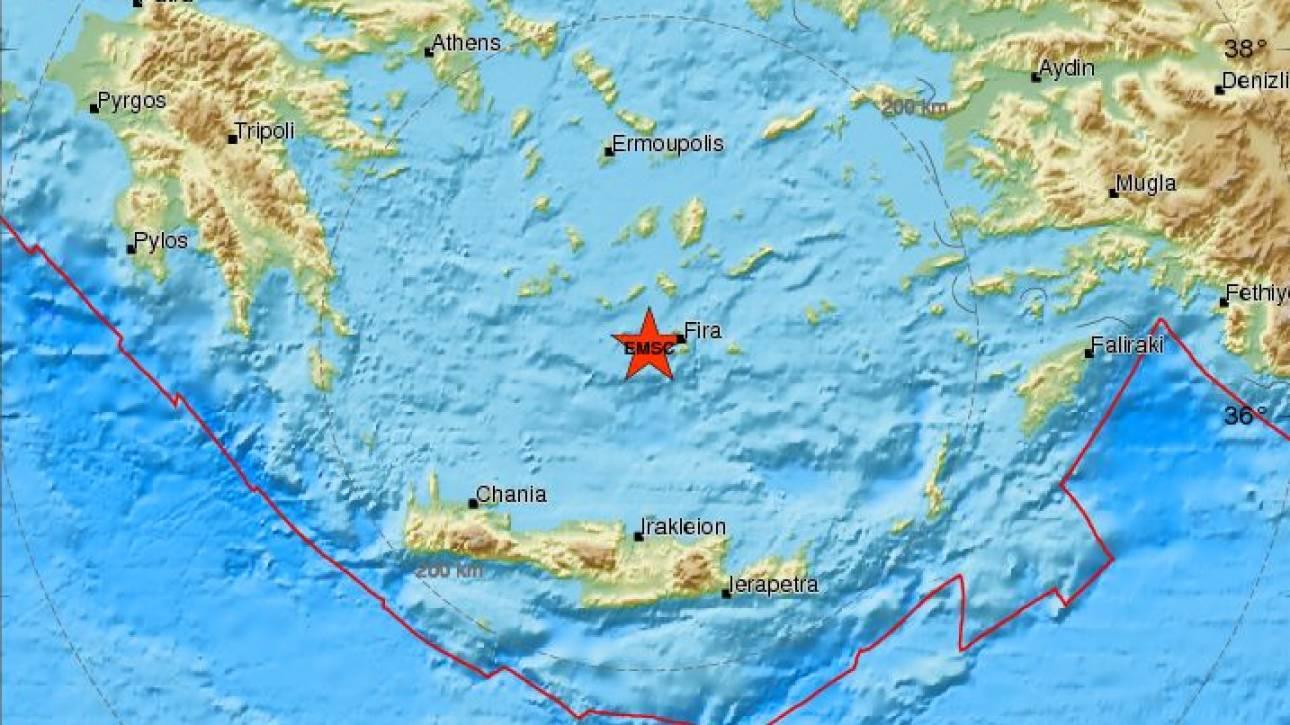 Σεισμός στη Σαντορίνη (pics)