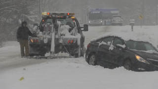 Σφοδρή χιονοθύελλα χτυπά τις μεσοδυτικές Πολιτείες των ΗΠΑ