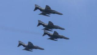 Μαχητικά στον Αττικό ουρανό: Γιατί θα πετάξουν πάνω από το στρατόπεδο του Παπάγου