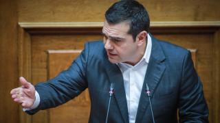 Ψήφος εμπιστοσύνης: «Καθίστε κάτω, τώρα θα τα ακούσετε, τώρα μιλάει ο πρωθυπουργός» είπε ο Τσίπρας