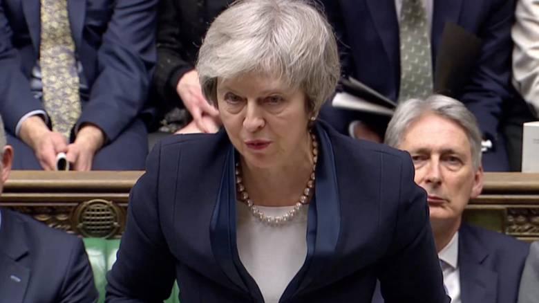 Βρετανία: Συντριπτική ήττα της Μέι - Δεν πέρασε η συμφωνία για το Brexit