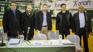 Γιαννακόπουλος: Όσο το δυνατόν ψηλότερα ο Παναθηναϊκός σε όλα τα τμήματα