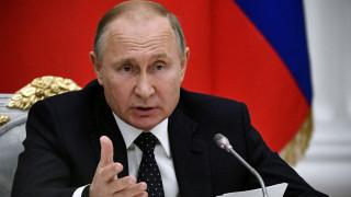 Β. Πούτιν: Η Συμφωνία των Πρεσπών εξυπηρετεί το ΝΑΤΟ