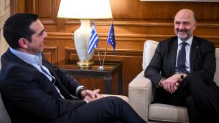 Τσίπρας σε Μοσκοβισί: Tην επόμενη φορά που θα έρθετε είστε υποχρεωμένος να πείτε «Βόρεια Μακεδονία»
