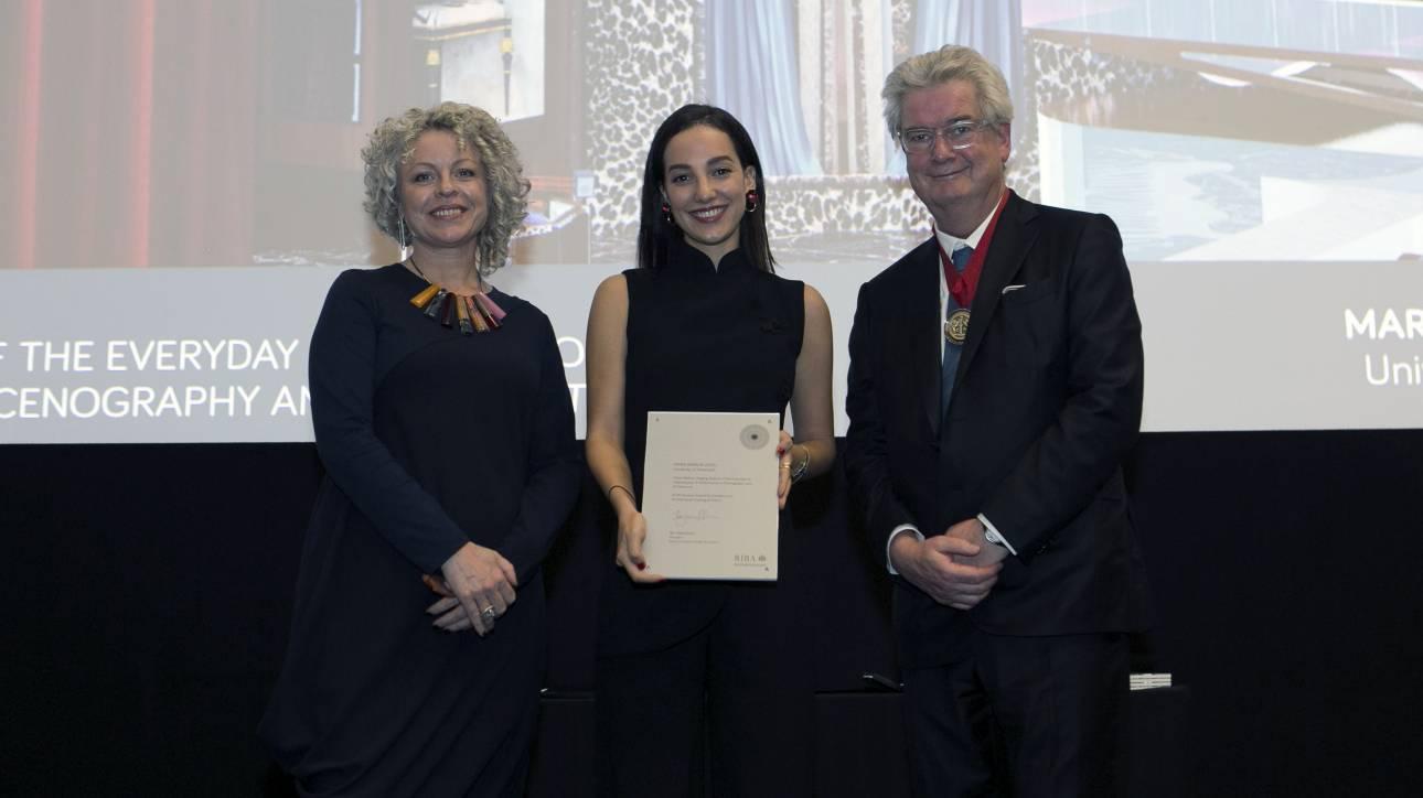 Σε 25χρονη Ελληνίδα το Επίτιμο Βραβείο Αριστείας του Βασιλικού Ινστιτούτου Βρετανών Αρχιτεκτόνων
