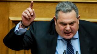 «Κακός χαμός» με Καμμένο στη Βουλή: To κέρατο, το κότερο και το... αλκοτέστ