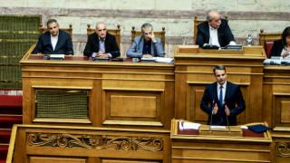 Μητσοτάκης για ψήφο εμπιστοσύνης: Τελευταία πράξη πολιτικής φαρσοκωμωδίας