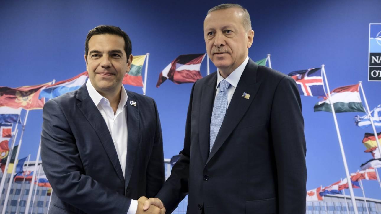 Στην Τουρκία ο Αλέξης Τσίπρας – «Βλέπει» Ερντογάν