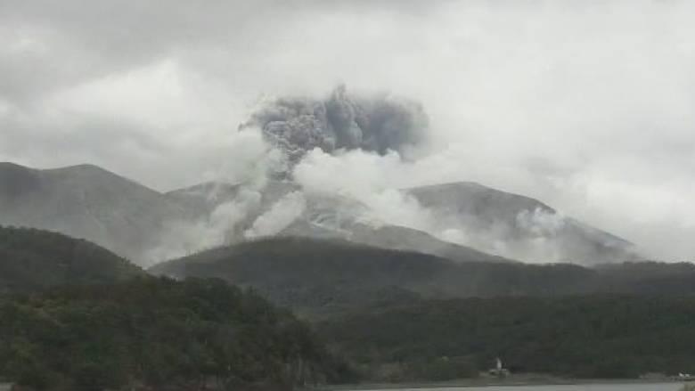Ηφαιστειακή έκρηξη σε μικρό νησί της Ιαπωνίας