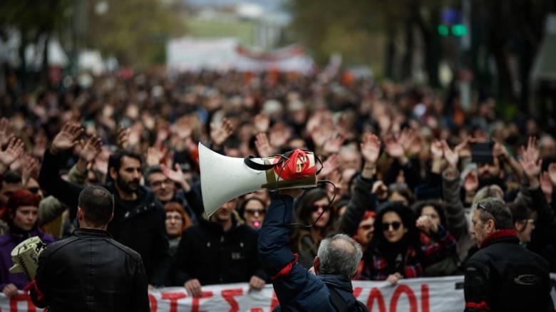Απεργία ΑΔΕΔΥ: Στους δρόμους ξανά οι εκπαιδευτικοί