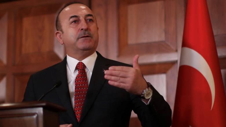 Τσαβούσογλου: Η Τουρκία αναγνωρίζει τη «Μακεδονία» με το συνταγματικό της όνομα