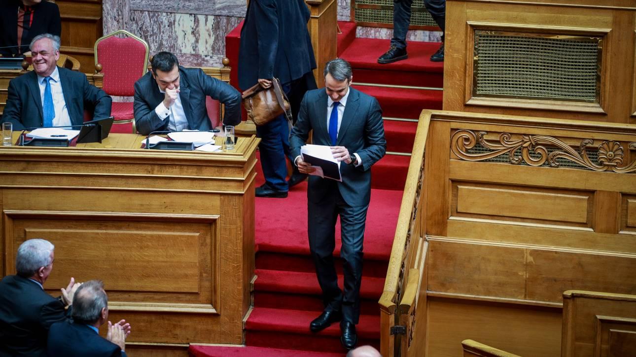 Τσίπρας σε Μητσοτάκη: Στην ώρα τους τα ντιμπέιτς των εκλογών