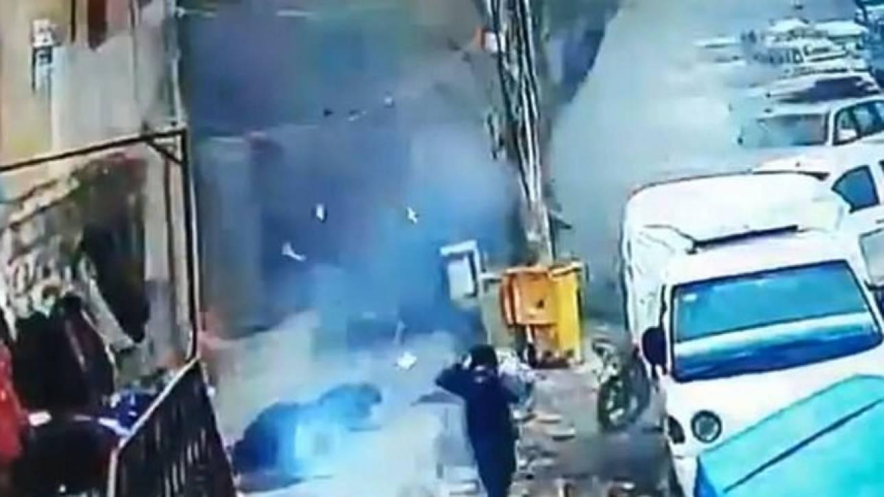 Σοκαριστικό βίντεο: Τζιχαντιστής πυροδοτεί εκρηκτικά και σκοτώνει Αμερικανούς στρατιώτες