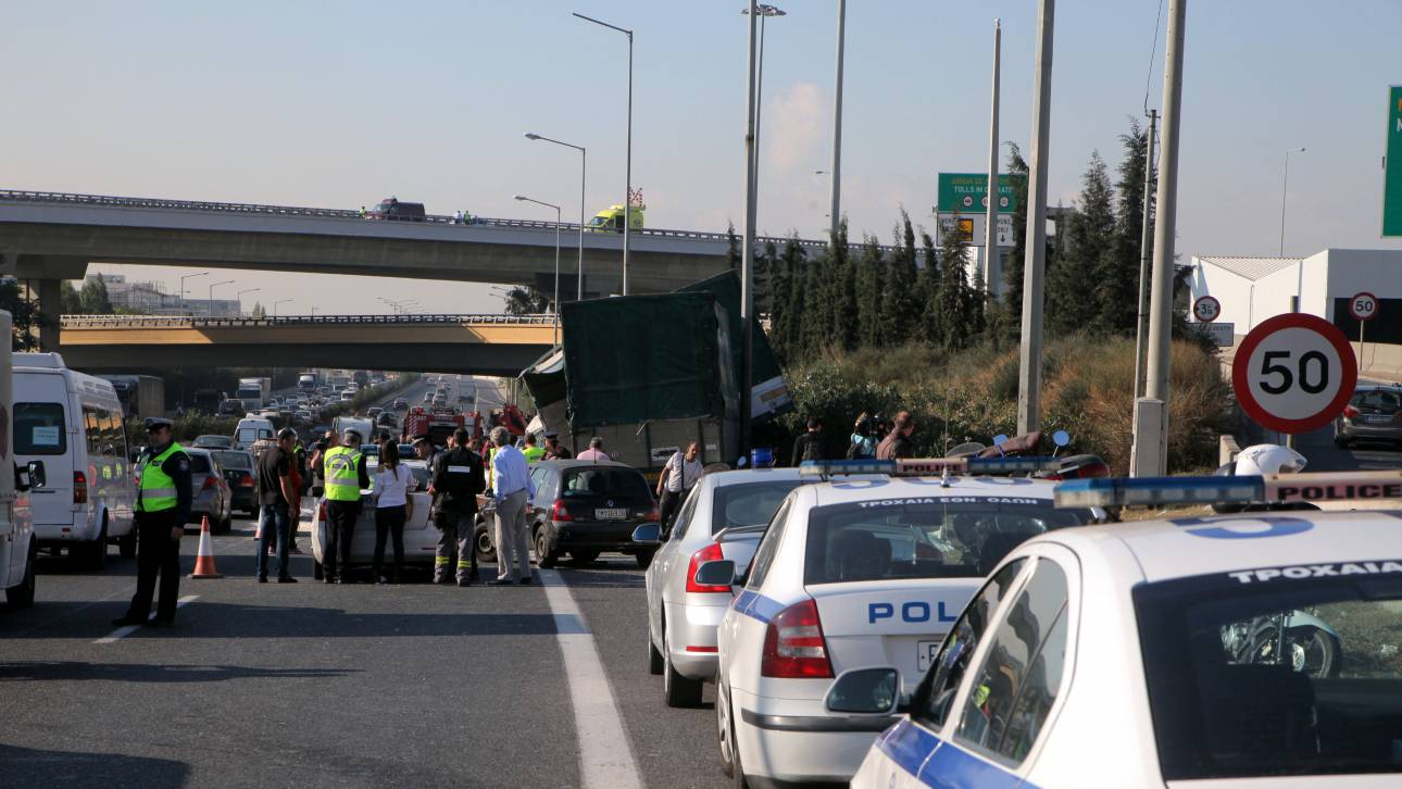 Καραμπόλα 15 οχημάτων στη Θεσσαλονίκη